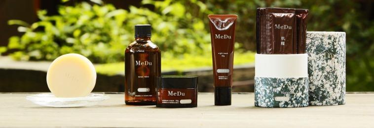 梅花酵母から生まれた自然派スキンケア「MeDu」オンラインストアはこちら