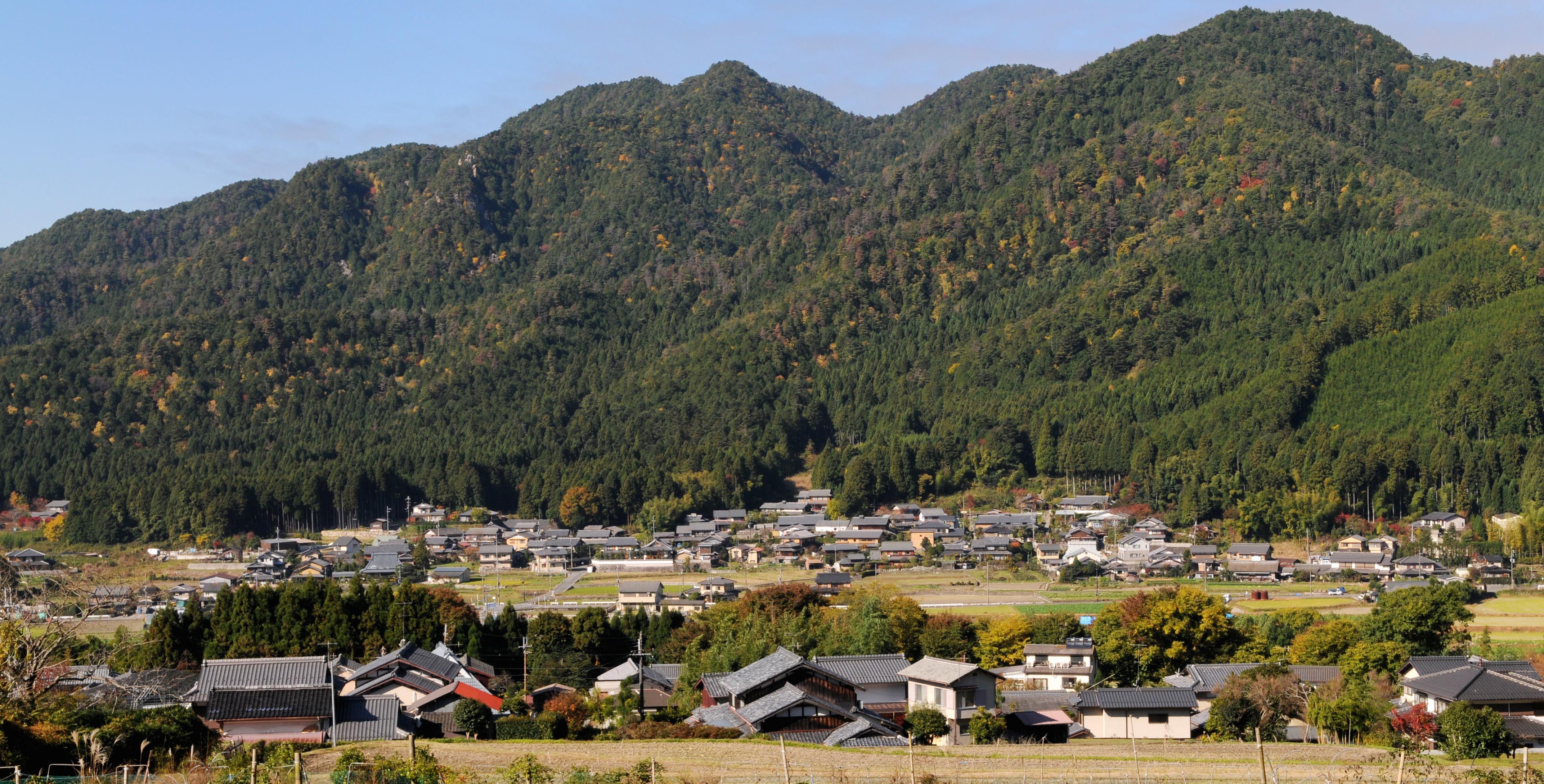 京都大原で暮らす