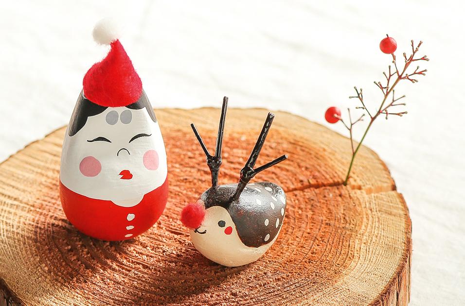 クリスマスを一緒に。季節を楽しむ飾りもの